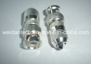 H. Q. Silver Plated BNC Plug pictures & photos