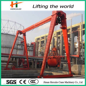 Hoist Crane with Grab Bucket Gantry Crane Price pictures & photos