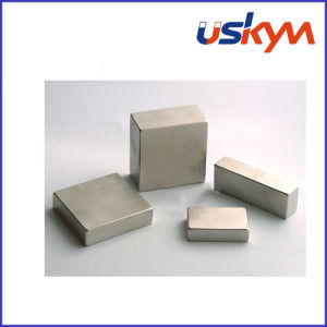 N35 Nickel Square NdFeB Magnets (F-010) pictures & photos