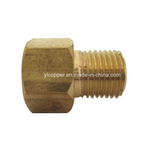 "Brass Brake Tube Nut for 1/4"" Brake Line pictures & photos"