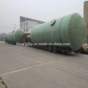 FRP GRP Fiberglass Chemical Storage Vessel Tank pictures & photos