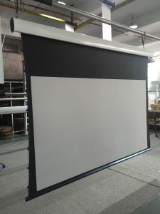 Cinema Projector Screen/Projection Screen/Tab Tensioned Screen pictures & photos