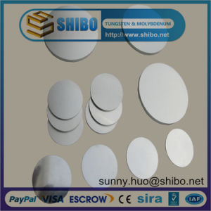 Molybdenum Disc Target for Vacuum Sputtering Coating pictures & photos