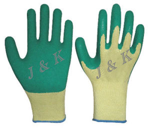 Safety Gloves Work Gloves Cotton Drill Gloves Safety Products pictures & photos