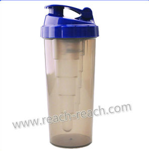 Protein Energy Drinking Plastic Shaker Bottle pictures & photos