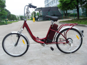 Cheap City Electric Bicycle for Woman pictures & photos