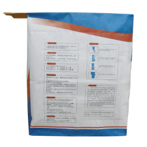 Kraft Paper Valve Bag for Tile Glue Series 20kg pictures & photos