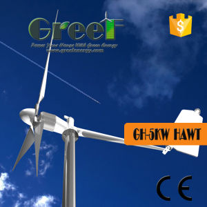 5kw System Horizontal Axis Wind Turbine From China pictures & photos