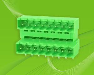 PCBA Pluggable Terminal Block with Dual Row Pin Header pictures & photos