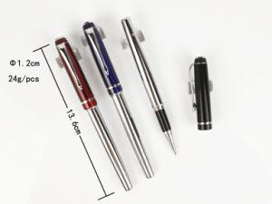 Best Popular Luxury Spring Twist Metal Ballpoint Pen Hotel Ball Pen Twist Metal Pens