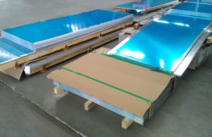 Aluminum Alloy Plate 5083-O with Blue Film pictures & photos