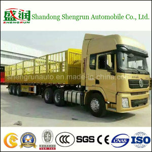High Qality Heavy Duty Fence Cargo Utility Truck Trailer