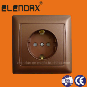 European Style Power Wall Schucko Socket (F6010) pictures & photos