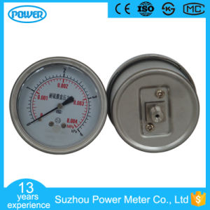 2.5′′ 63mm Back Connection Stainless Steel Capsule Pressure Gauge pictures & photos