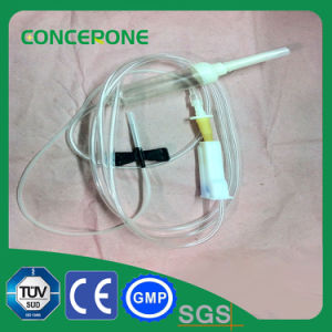 Sterile Plastic Transfusion IV Fluid Pump pictures & photos