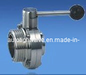 Sanitation (sanitary) Screwed/Welded Butterfly Valve