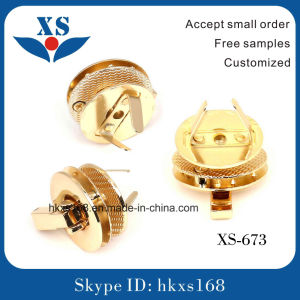 Free Sample Metal Bag Harware Metal Bag Twist Lock pictures & photos