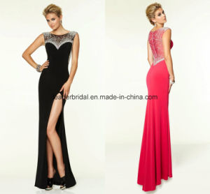 Sequins Fashion Dresses Chffion Side Split Prom Party Gowns Ra920 pictures & photos