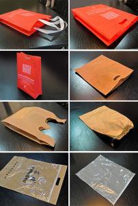 D Cut Nonwoven Bag Making Machine, Vest Nonwoven Bag Making Machine pictures & photos