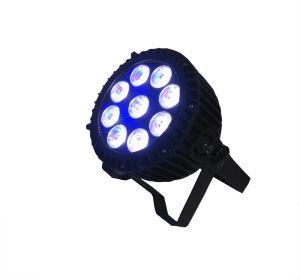 Elegant 9 Pieces 12W Multi-Use LED PAR Stage Light pictures & photos