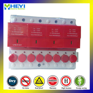 420V 100ka 4pole Surge Protector Electrical Surge Protection pictures & photos