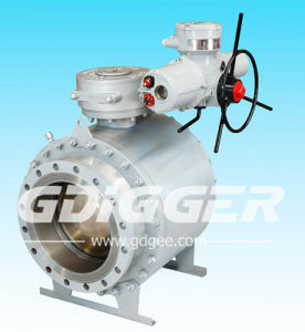 Stainless Steel Trunnion Mounted LPG Gas Control Ball Valve