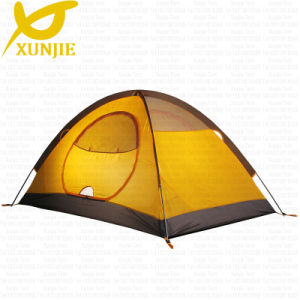 High Quality 2 Person2 Door Big Space Camping Tent pictures & photos