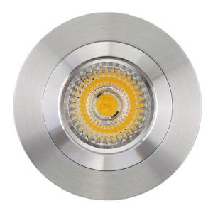 Lathe Aluminum GU10 MR16 Round Fixed Recessed LED Downtlight (LT2114) pictures & photos