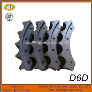 Sprocket Segment Group for Caterpillar Bulldozer D6d Undercarriage Parts pictures & photos