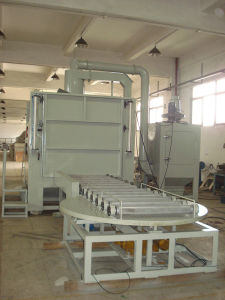 Sandblasting Machine with Roller pictures & photos