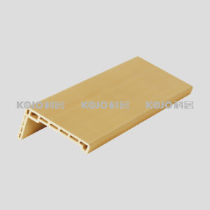 Anti-Termite Waterproof WPC Material PVC Covered Architrave (A440) pictures & photos