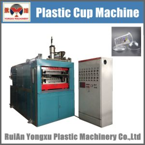 Plastic Flower Pot Making Machine/Plastic Disposable Cup Making Machine/Plastic Cup Forming Machine/Plastic Thermoforming Machine/Plastic Cup Machine (YXYY) pictures & photos