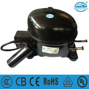 (QM50U) Mini R290 Refrigerating Compressor with Starting Capacitor pictures & photos