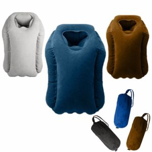 2017 New Arrival Air Pillow Multifunctional Inflatable Travel Pillow, Airplane Tray Table Pillow, Woollip Travel Pillow pictures & photos