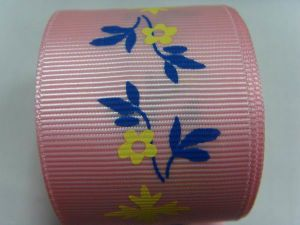 Factory High Quality Jacquard Grosgrain Ribbon pictures & photos