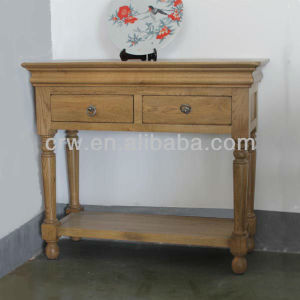 OA-4015 Solid Oak Furniture Console Table Sideboard pictures & photos