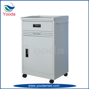 New Type ABS Hospital Furniture Medical Bedside Locker pictures & photos