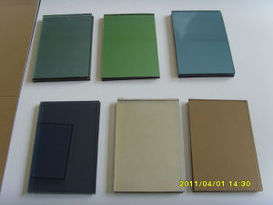 Colored Low-E Glass / Low-E Insulated Building Glass pictures & photos