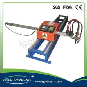 Discount Price Portable CNC Plasma Cutting Machine for Carbon Steel pictures & photos