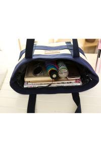Wholesale High Quality Four Colors Canvas Mummy Shoulder Bag Handbag pictures & photos