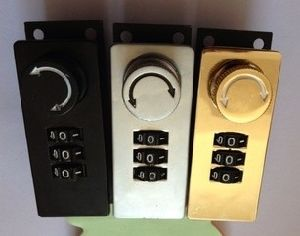 Zinc Alloy Die Casting Combination Lock (Yh05) pictures & photos
