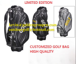 Custom Made 100% Waterproof Golf Caddie Bag/ Golf Cart Bags, 6 Way 9′′ pictures & photos
