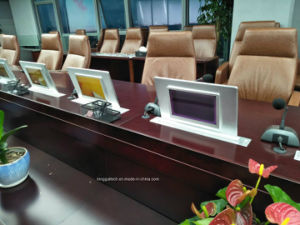 """Dual Screen Former 18.5"""" Backside 10"""" Screen Video Display Terminal Lgt-D185A pictures & photos"""