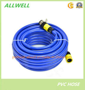 "PVC Fiber Braided Water Irrigation Garden Hose1/2"" pictures & photos"