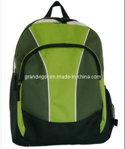 Polyester School Backpack with Padded Shoulder Straps pictures & photos
