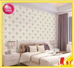 2016 Wholesale Popular Deep Embossed PVC Wallpapers Wallcovering pictures & photos