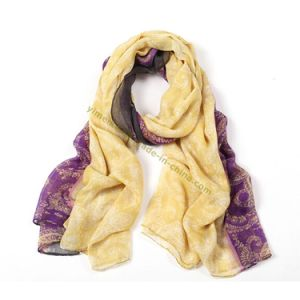 Bohemia Trendy Women′s Voile Scarves pictures & photos