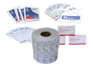 Packaging Paper for Antispetic Prep Pads pictures & photos