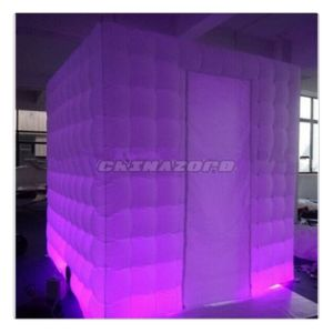 Good Shaped Cubic Inflatable Air Photo Booth Authentic Quality pictures & photos