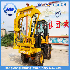 Hydraulic Auger Pile Driver / Pile Driving Machine / Screw Pile Driver pictures & photos
